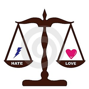 Love is better than Hate