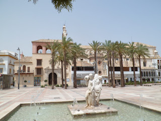 Ecija plaza de espana, Southern Spain