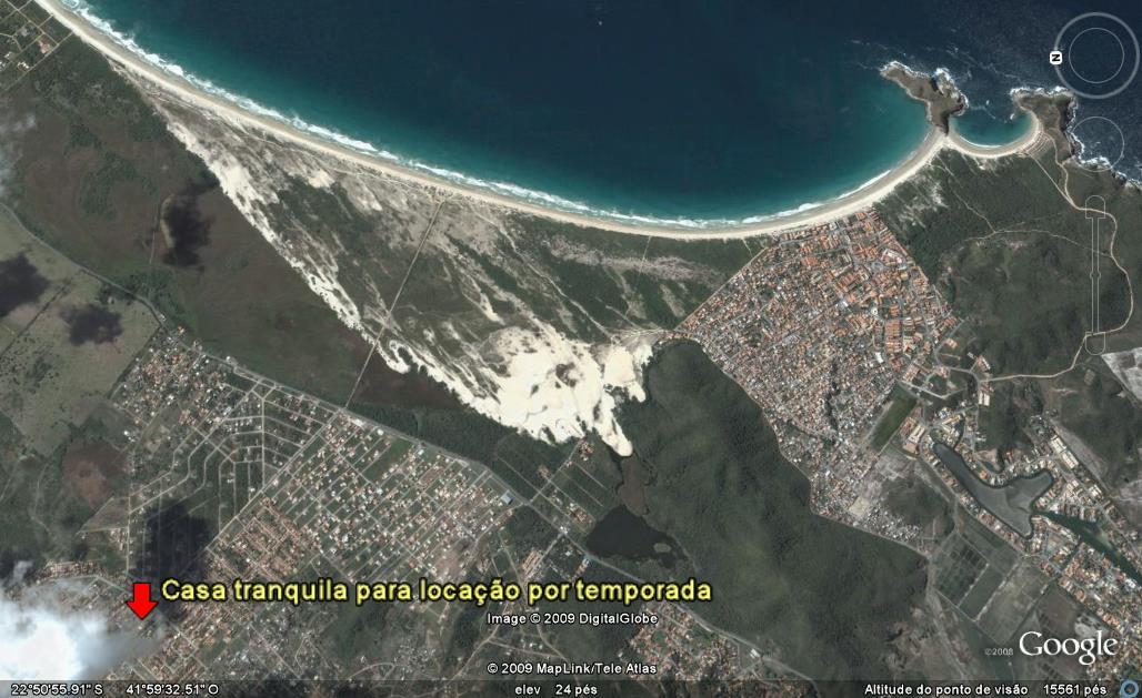 Localização da Vila do Sossego
