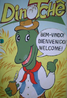 Dinotchê - Mascote de Paleorrota
