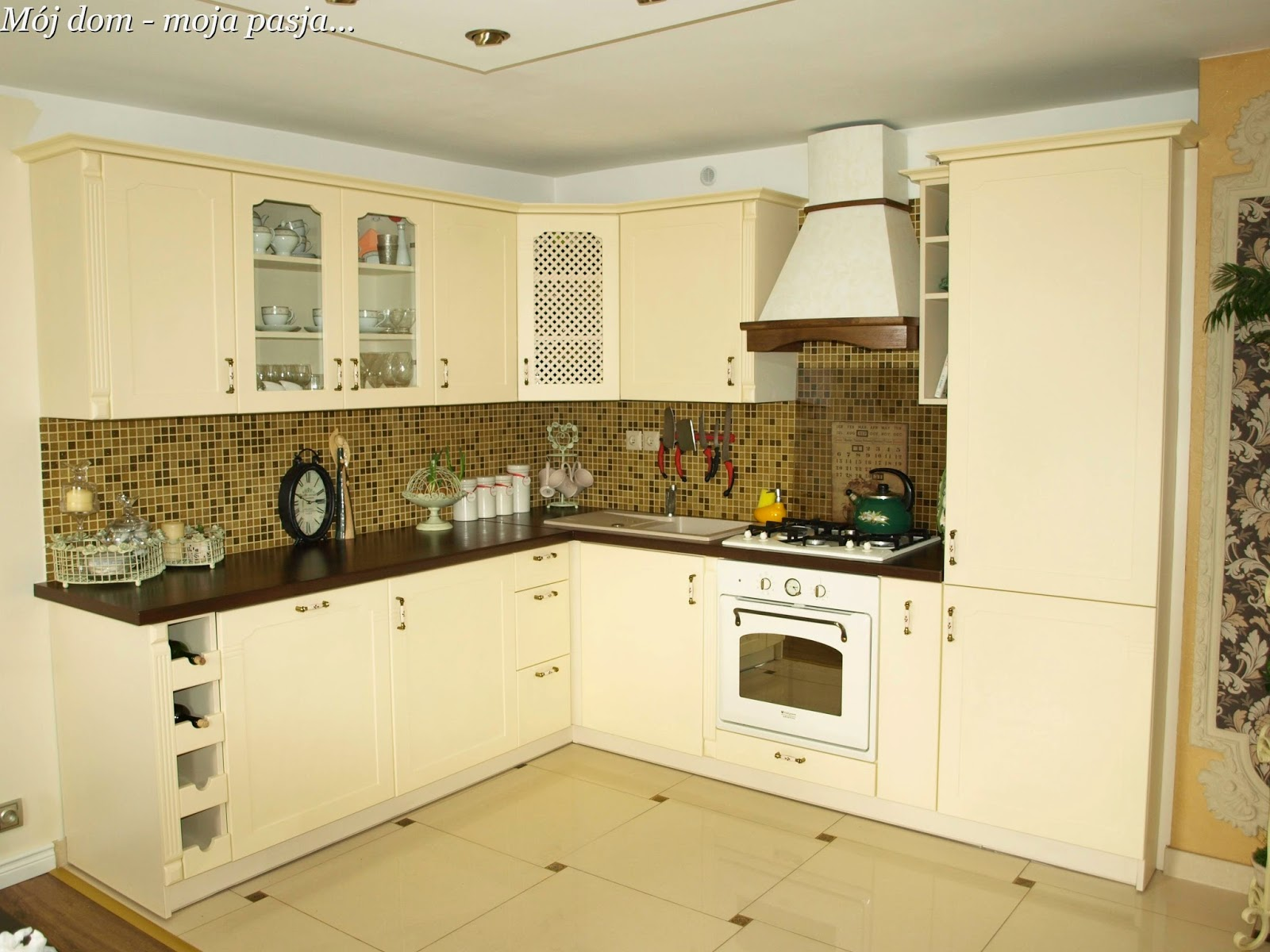 Mój dom  moja pasja by DomiNika maja 2014 -> Kuchnia Retro Amica