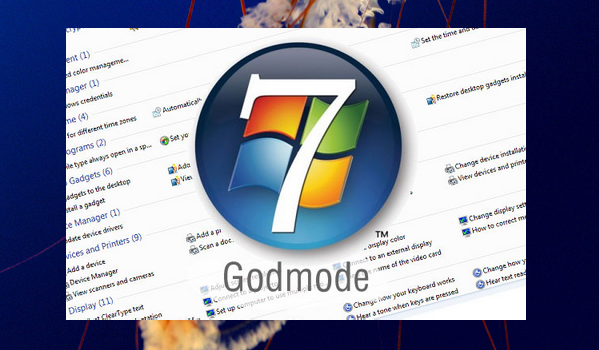 windows 7 god mode
