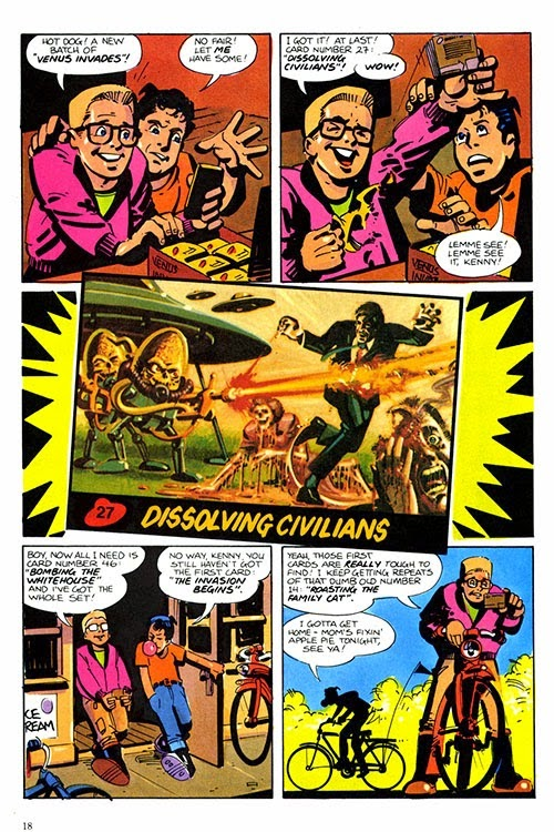 carte 8 Set Topps Marvel recueillir célèbres ennemis Series 1