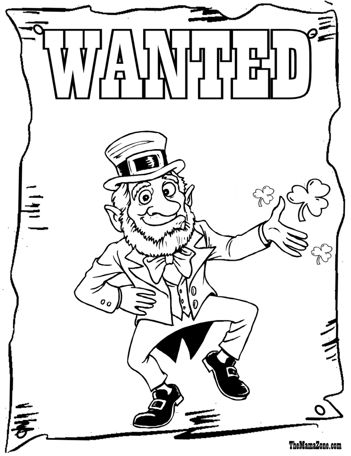 st patricks day coloring pages - saint patrick 39 s day coloring pages the mamazone