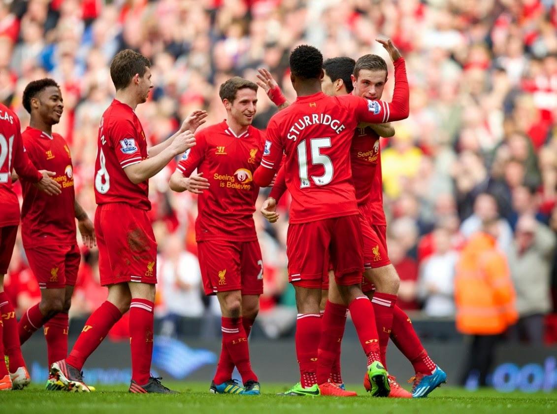 El Liverpool machaca al Totenham y se coloca líder de la Premier