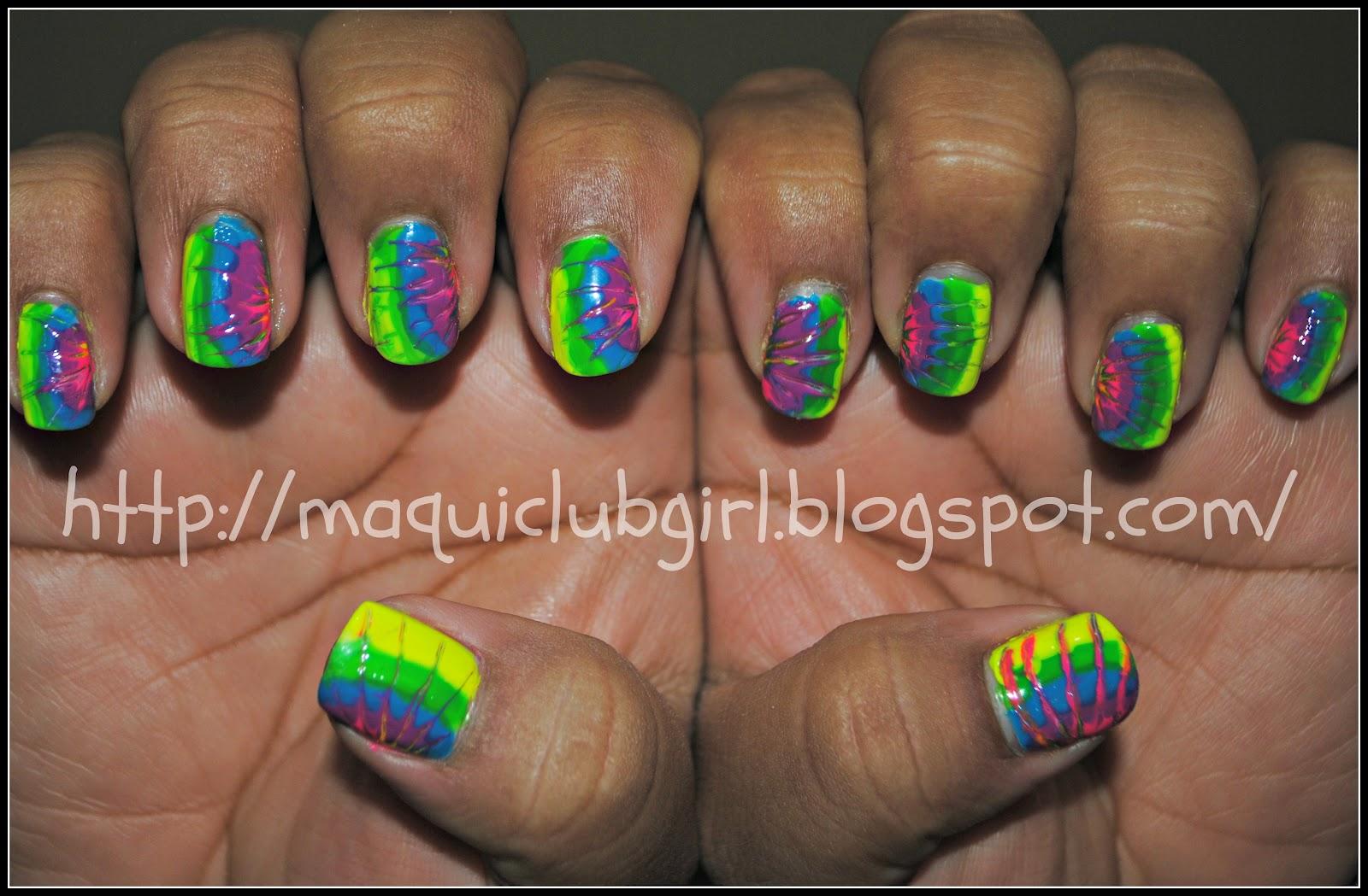 MAQUICLUB GIRL: MSMD: Hippies Nails