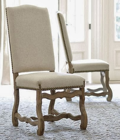 Maison newton the look for less traditional home visits for Dining chairs for less