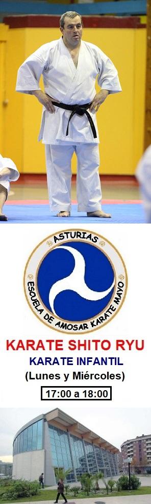 Escuela de Amosar Karate Mayo.