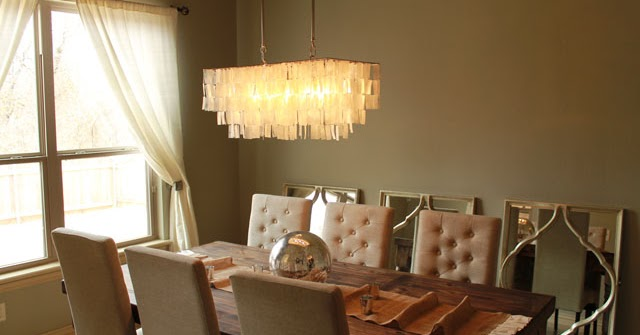 The Peak Of Tres Chic Rustic Glam Dining Room Update
