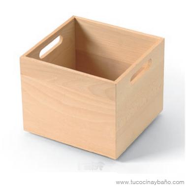 Caja madera cajon gavetero tu cocina y ba o - Cajas de madera online ...