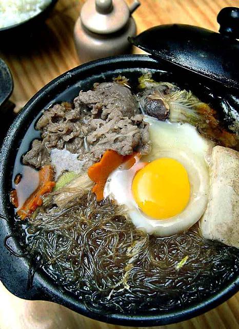 Osaka Ohsho Beef Sukiyaki