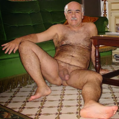 hot older naked men - moustache sexy naked - my grandpa