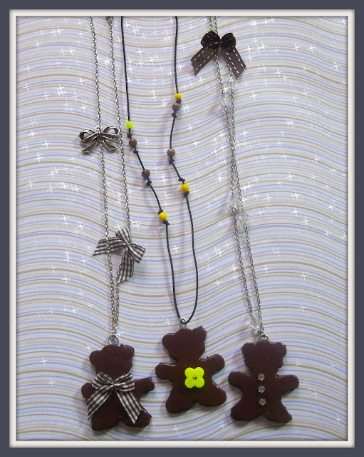 pâte fimo bijoux sucrés
