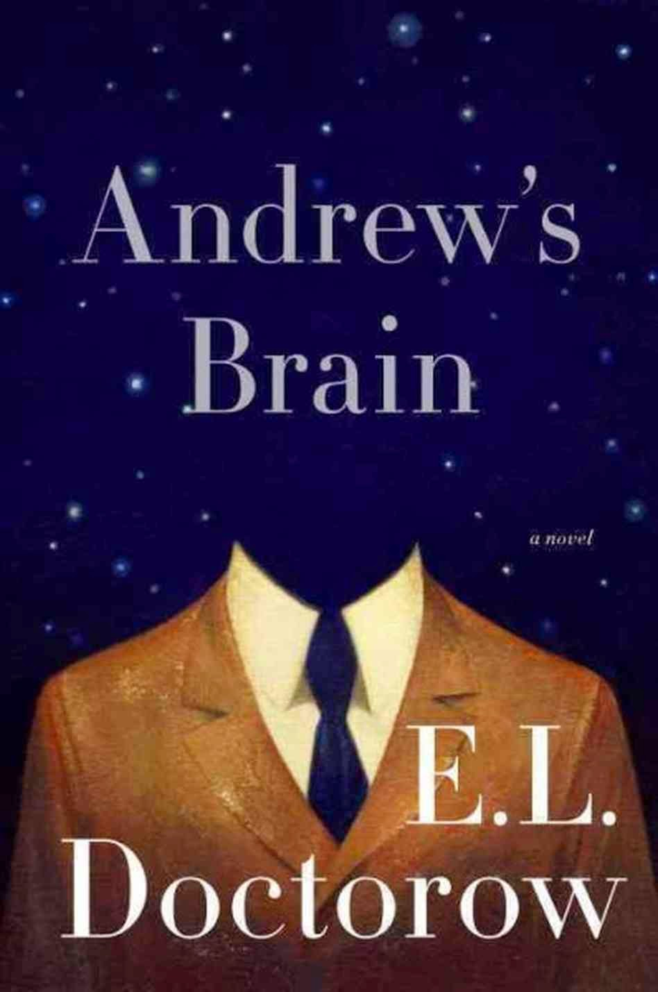 picture of book cover for Andrew's Brain by E.L. Doctorow