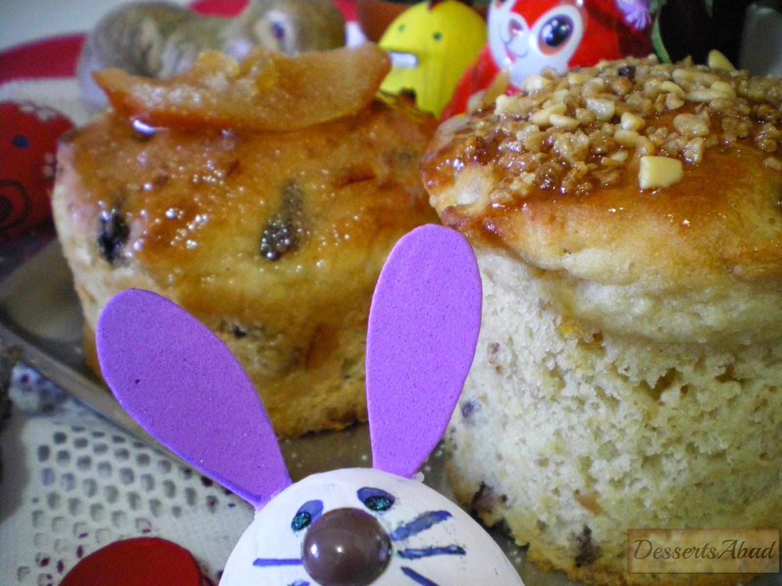 Pan de Pascua (OsterBrot)