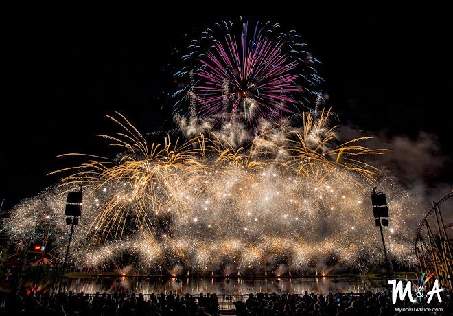 2017 - International des Feux Loto-Québec - Angleterre - Jubilee Fireworks ltd.