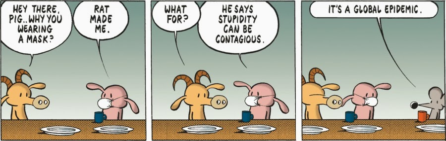Pearls Before Swine.
