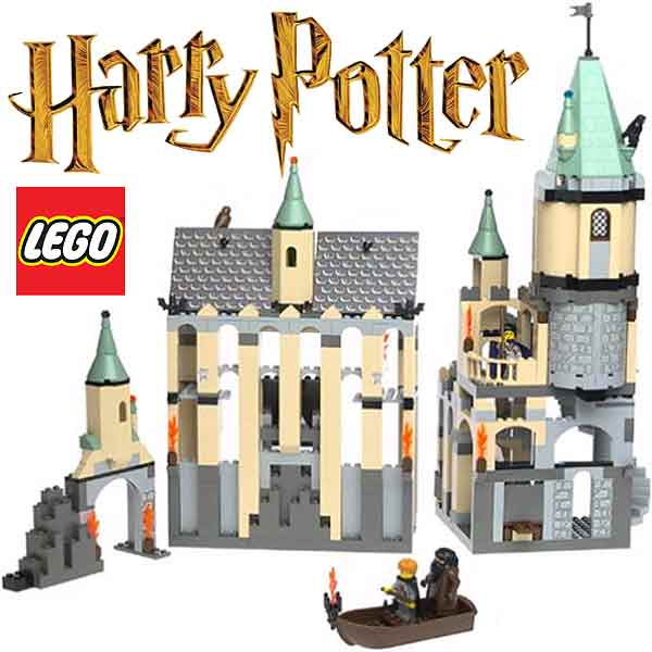 Lego Harry Potter Hogwarts Castle Sets And Brick Model Forts Puff