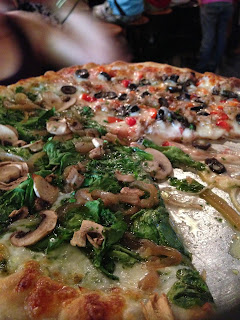 pizza at russian river brewing company