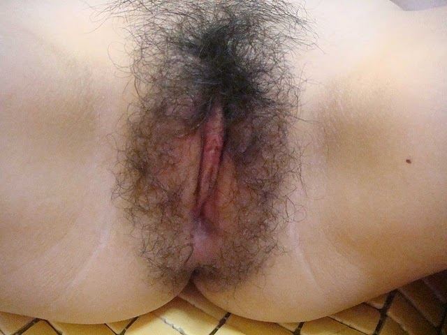 Hairy vagina before and after shave