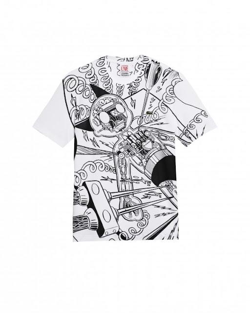 camiseta lacoste tezuka astroboy
