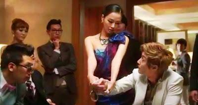 Kim Hyunjoong Lucky Guy cop handcuffs