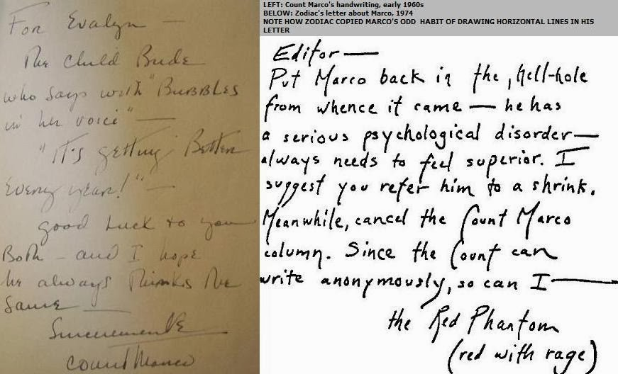 Serial Killer Handwriting