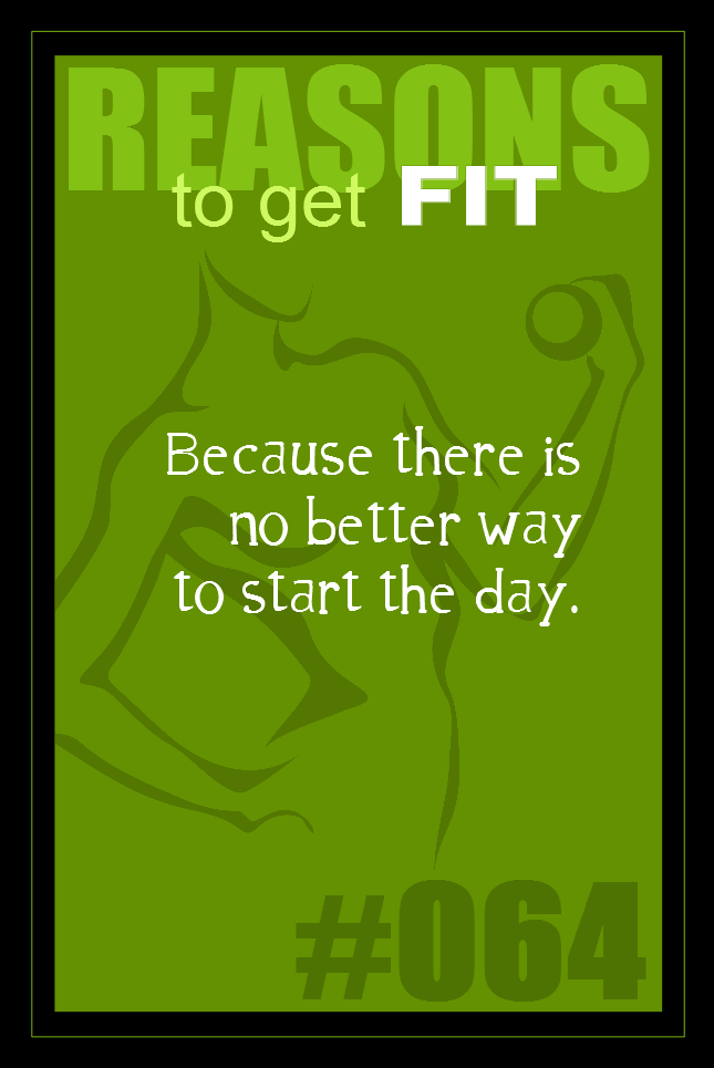 365 Reasons to Get Fit #064