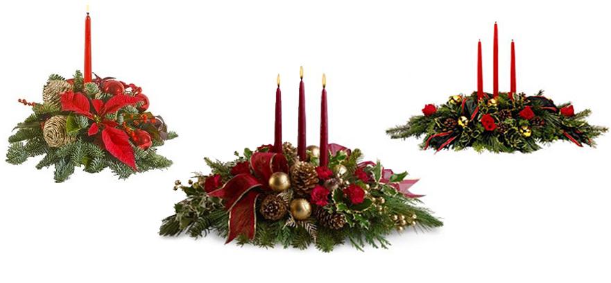 Flores manolita centros y adornos para navidad - Adornos para navidad ...