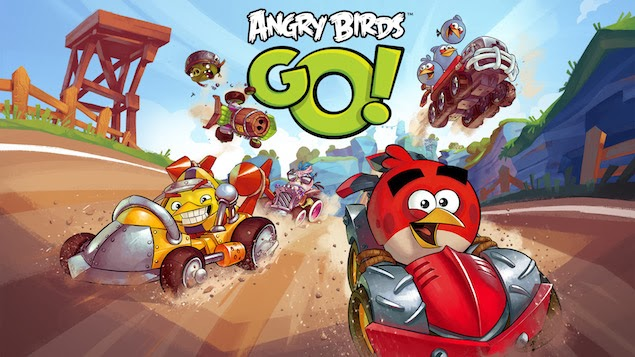 Angry Birds Go ! Now Available On Different Mobile Platforms For Free