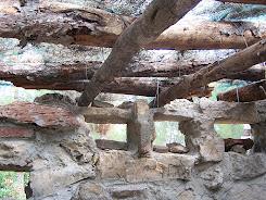 Interior de un bunker