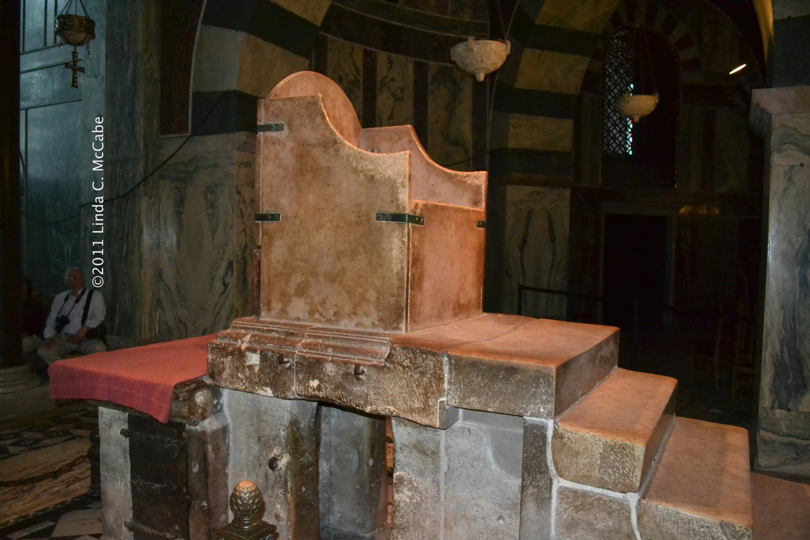 Charlemagnes Throne Charlemagne s throne on the