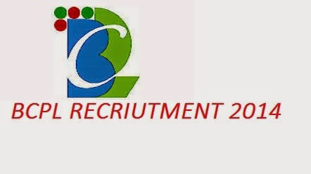 bcpl recruitment 2014