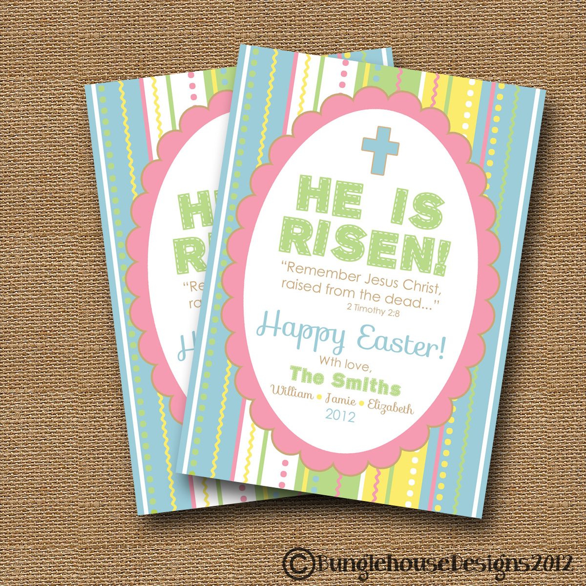 He Is Risen  Free Printable Religious Easter Cards