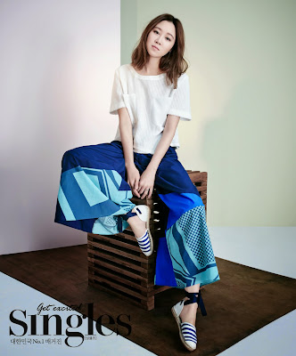 Gong Hyo Jin - Singles Magazine May Issue 2015