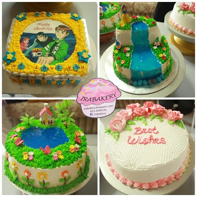 Types Of Cake Decorating : Deco Cakes, Cupcakes, Cheese cake & Kek Lapis Sarawak in ...