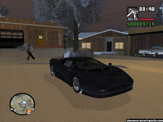 GTA San Andreas Snow Mod - screenshot 10