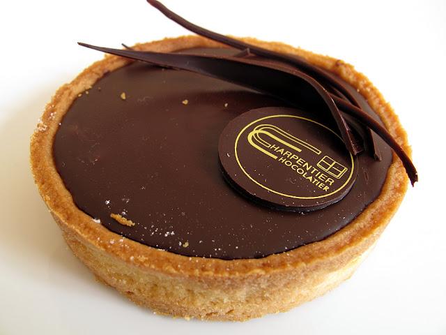 Chocolatier Charpentier - Didier Fourreau - Tarte au chocolat