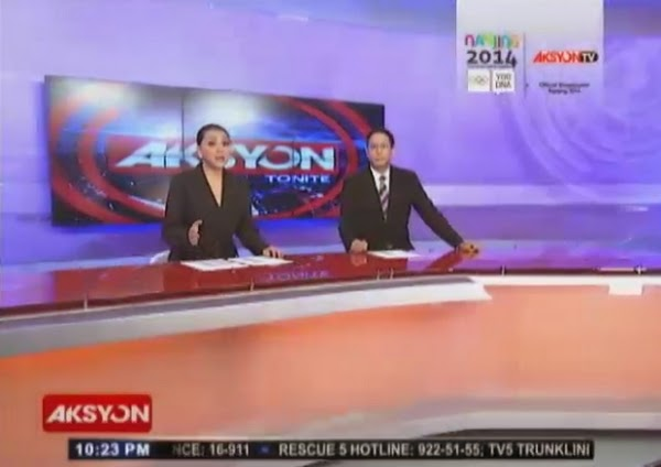 Paolo Bediones on Aksyon Tonite July 28, 2014