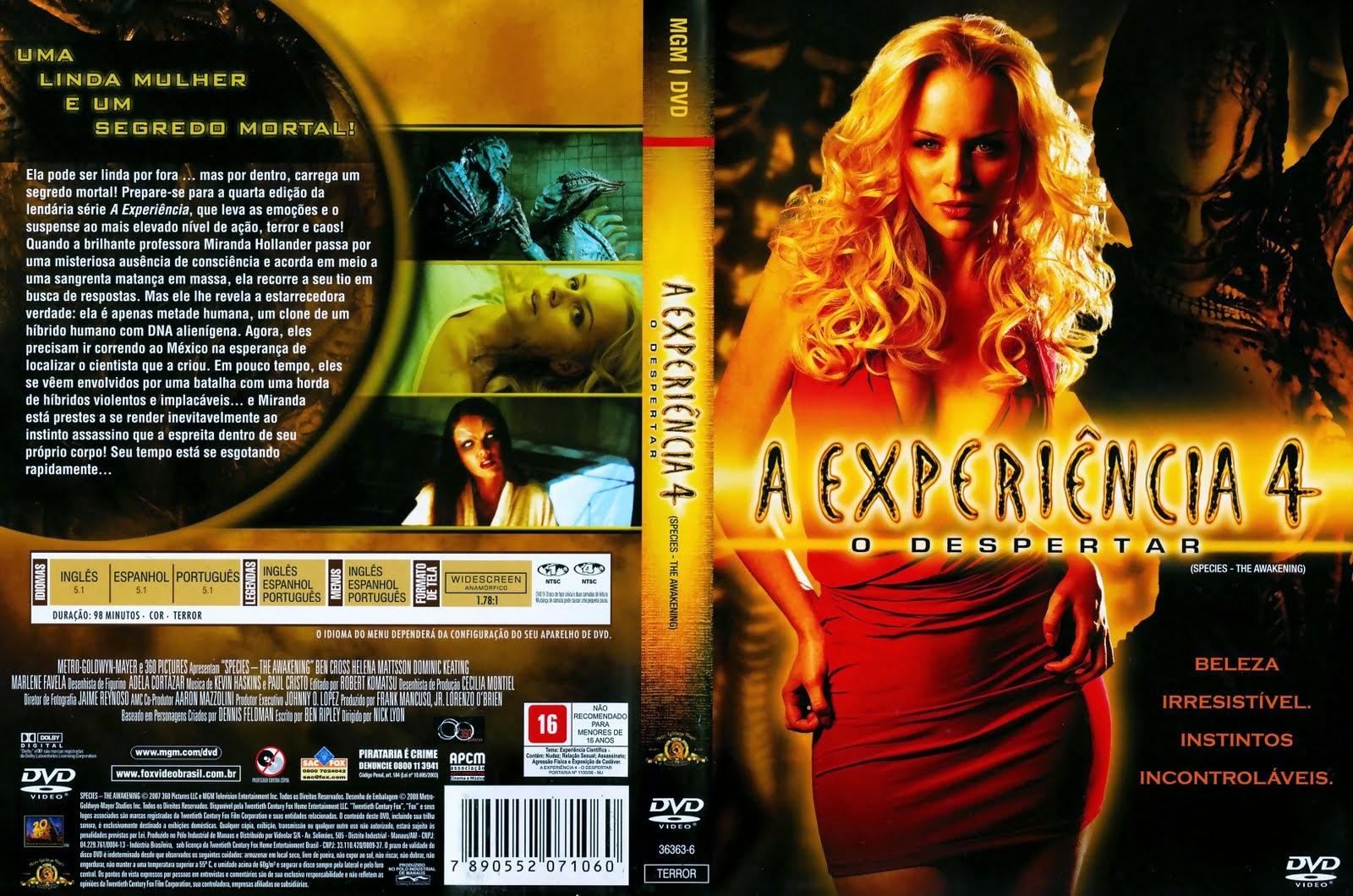 A Experiência 4 DVD Capa