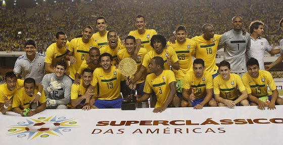 Análise tática do Super Clássico das Américas, Brasil 2 x 0 Argentina