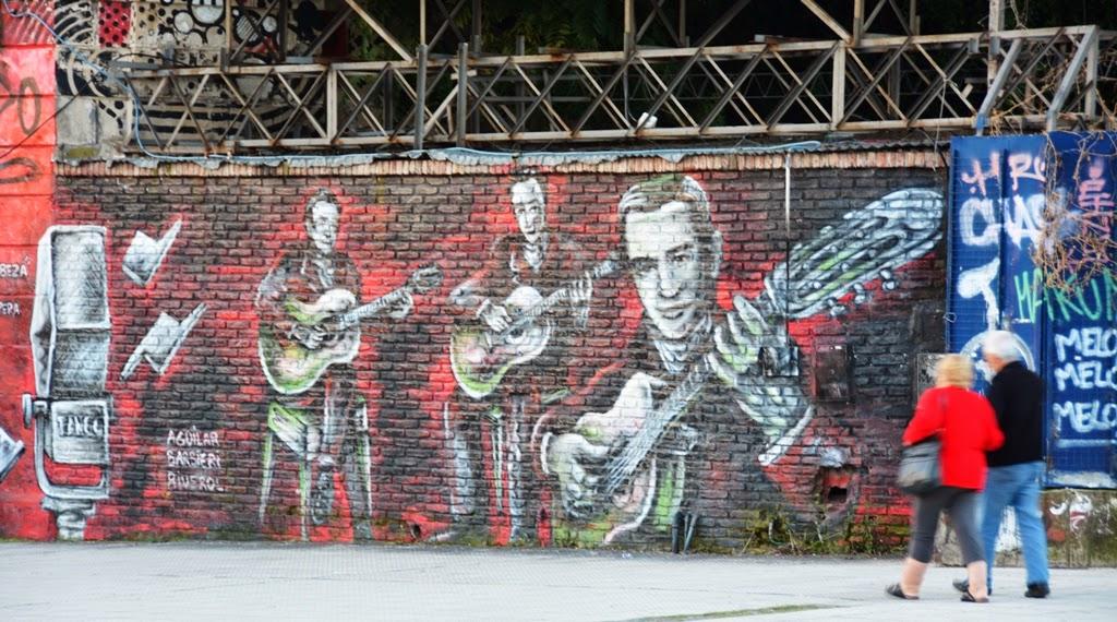 Graffiti Buenos Aires music