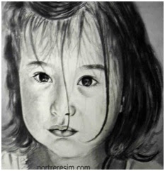 Kara kalem resim hediye