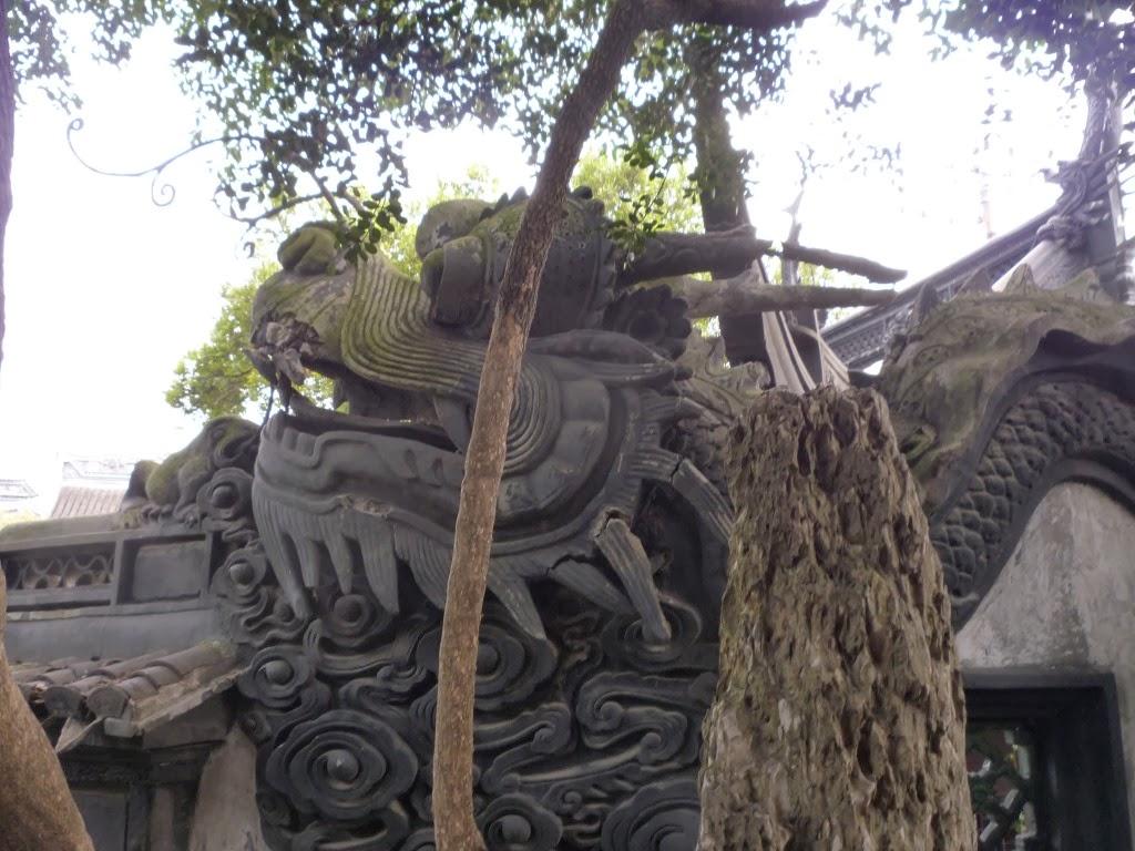 Muro de los cinco dragones del jard n yuyuan shanghai for Muro de separacion jardin