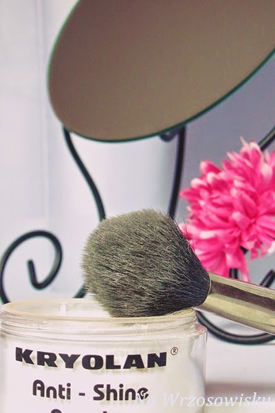 puder transparentny pedzel make up