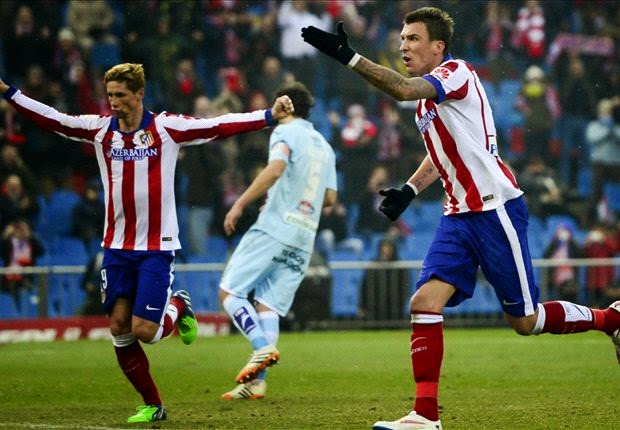 Liga Spanyol : Atletico Madrid 2-0 Granada
