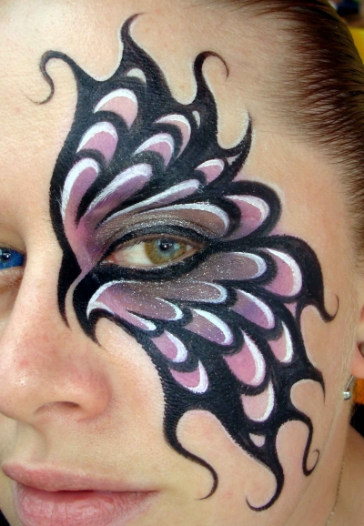 butterfly makeup designs