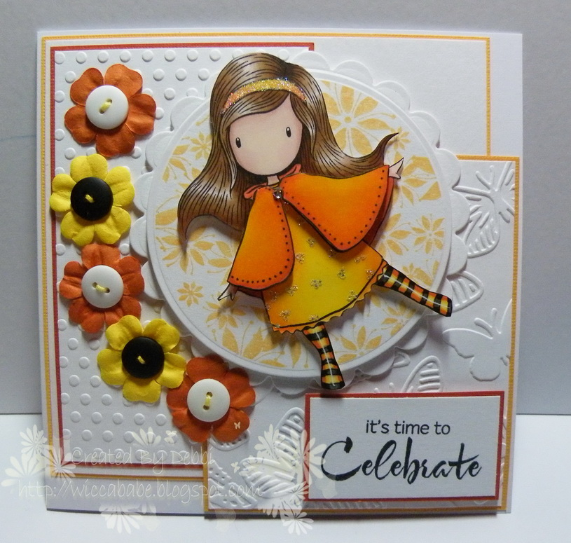 The crafty cuttings of wiccababe spring into summer papeterie hero arts poinsettia circle cg103 stamped with memento cantaloupe hero arts find joy cl497 greeting papeterie white cardstock coredinations colour m4hsunfo