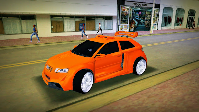 Audi A3 Tuning - GTA Vice City