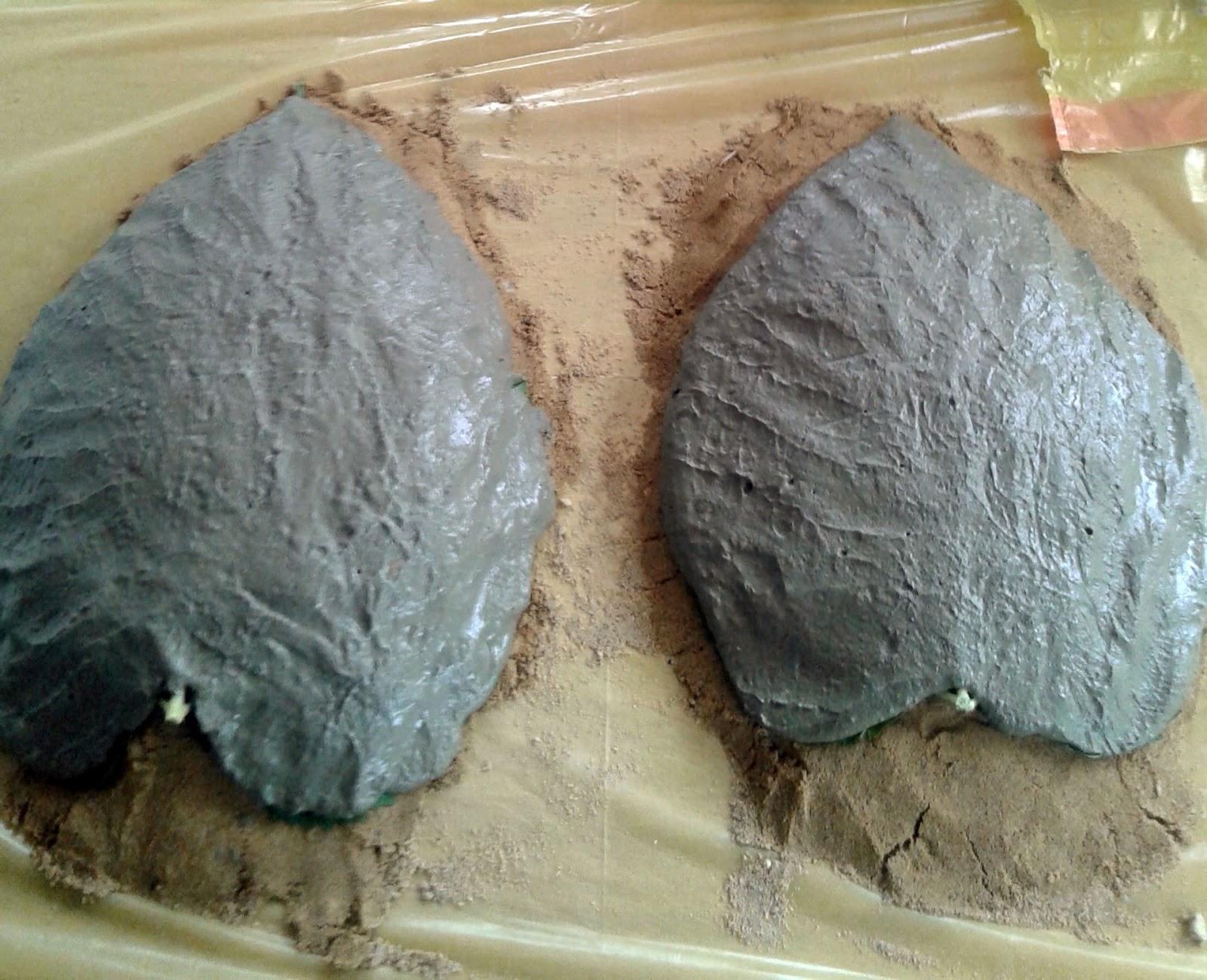 Villarochel el rincon magico reciclando con cemento - Como hacer cemento ...